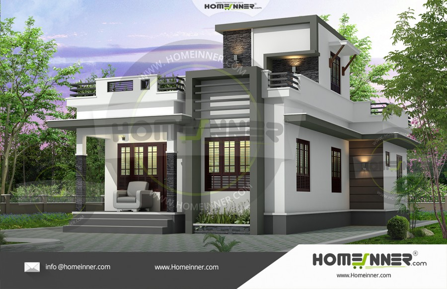 HIND-9988 Architectural house plan villa floor plan package