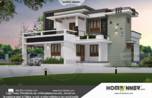 HIND-29966 Architectural house plan villa floor plan package