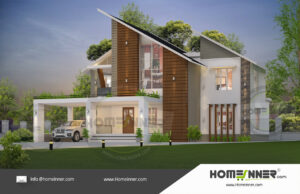 HIND-11033 Architectural house plan villa floor plan package