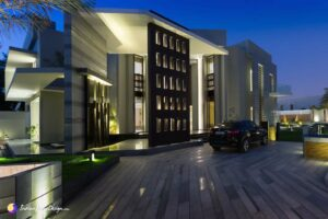 Luxury Villa with Swimming Pool Design in Saar Bahrain by Moriq