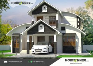 1418 sqft Beautiful Small Budget 3 Bhk Traditional Indian Home Design