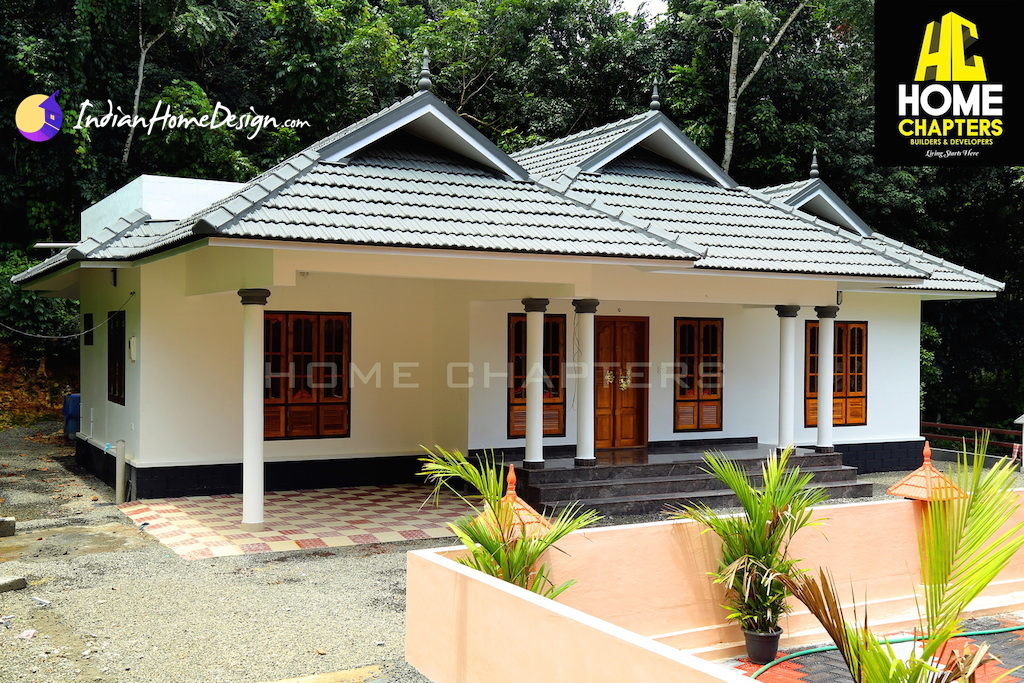 1650 sqft 3 Bhk Kerala Style Traditional Home Design by Home Chapters
