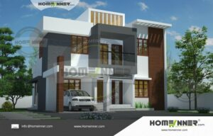 1741 sq ft 4BHK Latest Home Plan