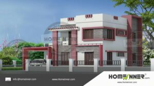 2000 sq ft 4BHK Indian House Plan