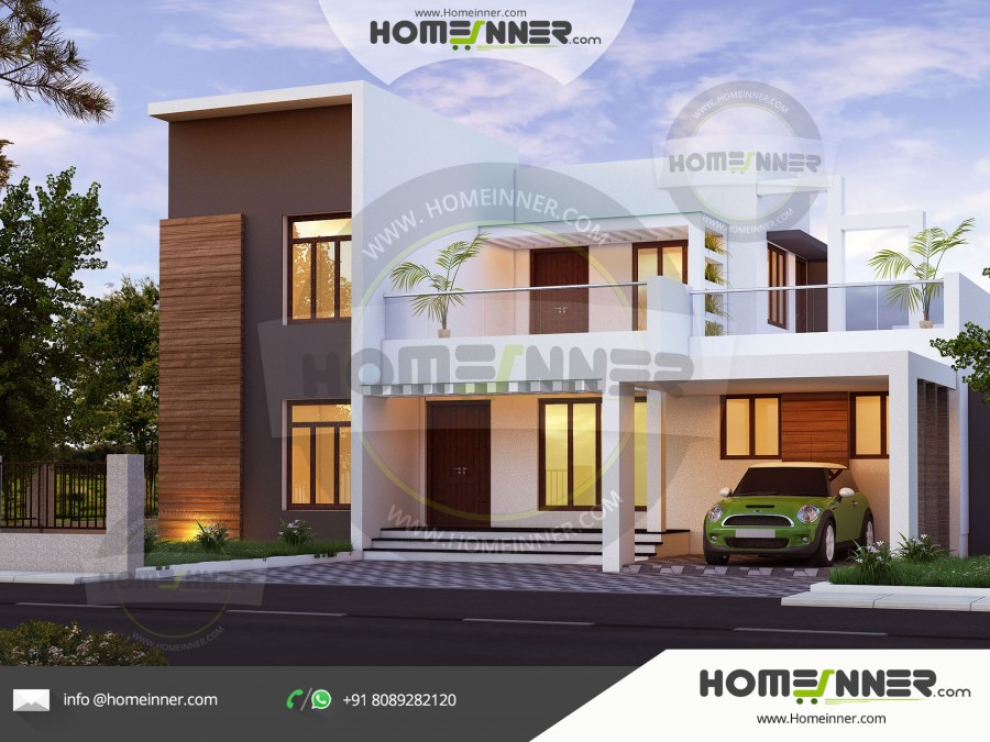2400 sq ft 4BHK Affordable Home Plan