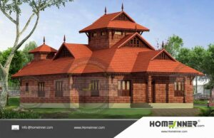 Affordable 2BHK Traditional House Plan