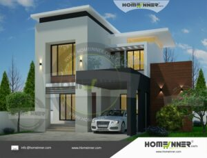 Attractive 1520 Sq ft 3BHK Home Plan