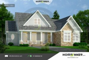 Canadian 2864 sq ft 3BHK Modern Home Plan