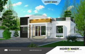 Low Cost 999 sqft 3BHK Home Design