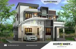 https://indianhomedesign.com/two-story-3-bedroom-attractive-home-plan/