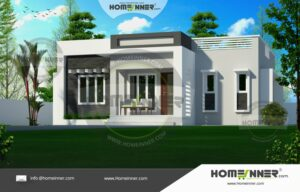 HIND-3039 Architectural house plan villa floor plan package