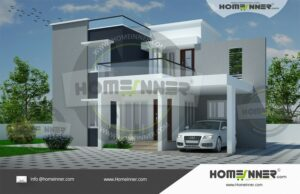 HIND-9997 Architectural house plan villa floor plan package