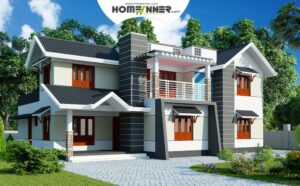 2500 sq ft 4BHK Contemporary Design for House Plan