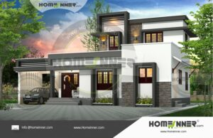 HIND-29023 Architectural house plan villa floor plan package