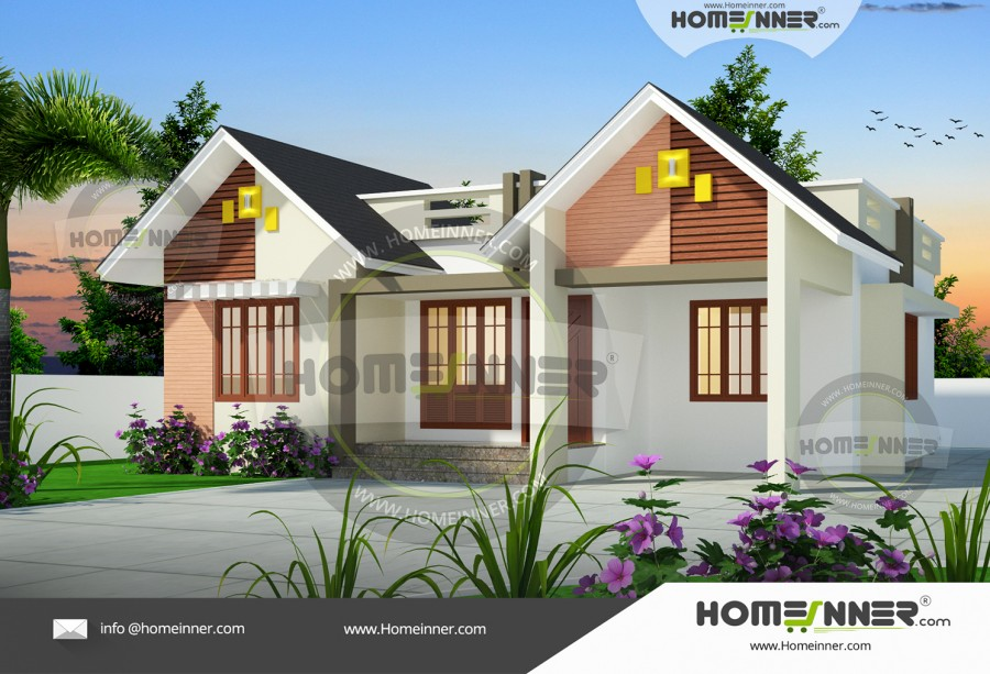 HIND 6096 Architectural house plan villa floor plan package