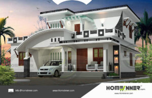 HIND-11048 Architectural house plan villa floor plan package