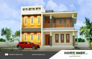 HIND-16086 Architectural house plan villa floor plan package