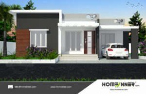 HIND-16089 Architectural house plan villa floor plan package