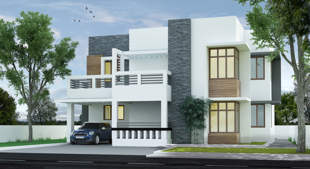 Below 35 lakhs simple contemporary style Cochin