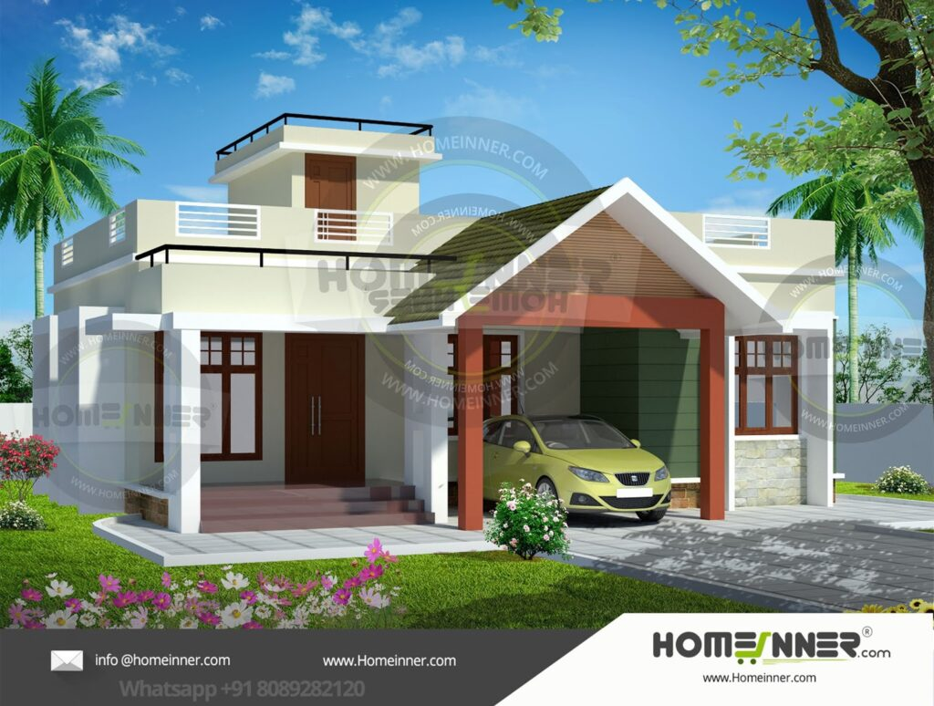 14 Lakh 2 BHK 993 sq ft Bihar Sharif Villa floor plan