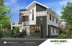 28 Lakh 3 BHK 2024 sq ft Guwahati Villa floor plan
