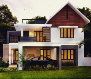 2300 sq ft 4 bed room modern home design pictures