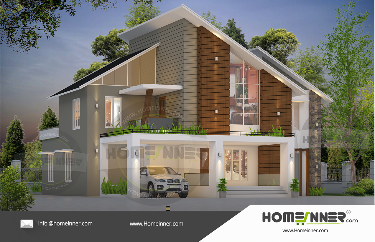 South Tripura 33 Lakh latest home front elevation designs