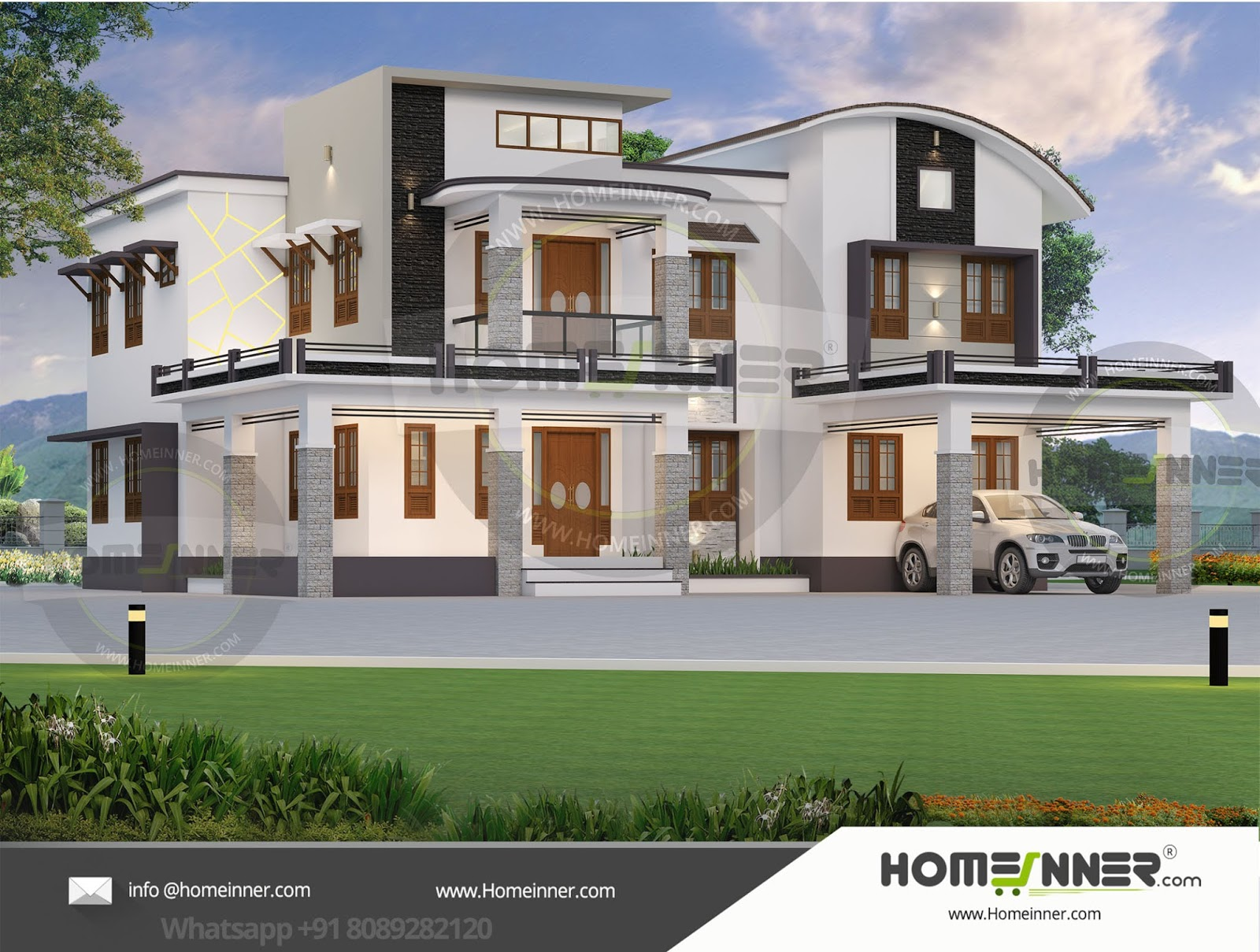 South Tripura 31 Lakh luxury modern house floor plans