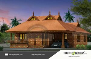 HIND-10975 House plan 3D Elevations
