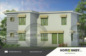 HIND-10977 House plan 3D Elevations