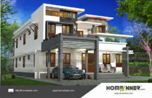 HIND-11034 House plan 3D Elevations