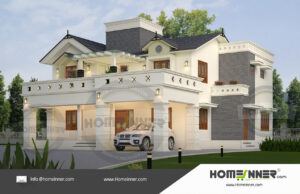 HIND-11038 House plan 3D Elevations