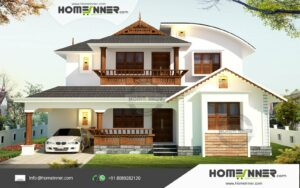 HIND-1105 house plan Rooms Amenities