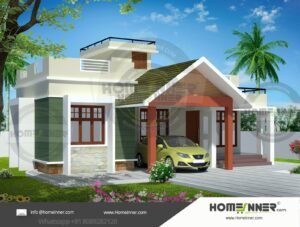 HIND-11051 House plan 3D Elevations