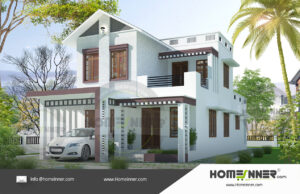 HIND-11084 House plan 3D Elevations