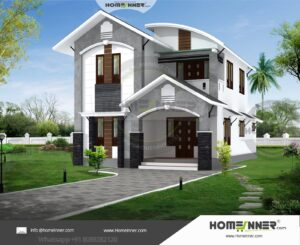 HIND-16088 House plan 3D Elevations