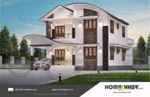 HIND-19965 House plan 3D Elevations