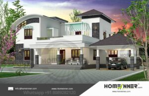 HIND-19987  Home Design Free Estimate  villa construction budget