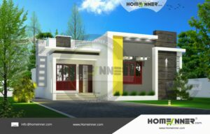 HIND-2009 House plan 3D Elevations