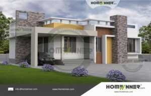 South Goa 10 Lakh small house single floor design