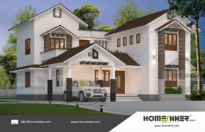 HIND-21039 House plan 3D Elevations