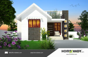 HIND-26068 house plan size