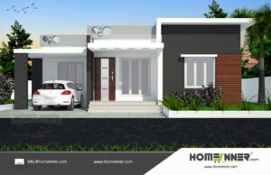 Betul 10 Lakh one floor house plans