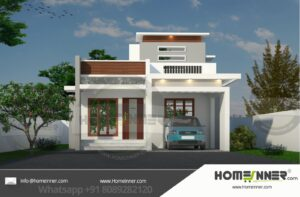 Sitapur 10 Lakh small house plan and design