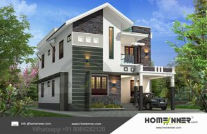 Vellore 20 Lakh modern home layout plans