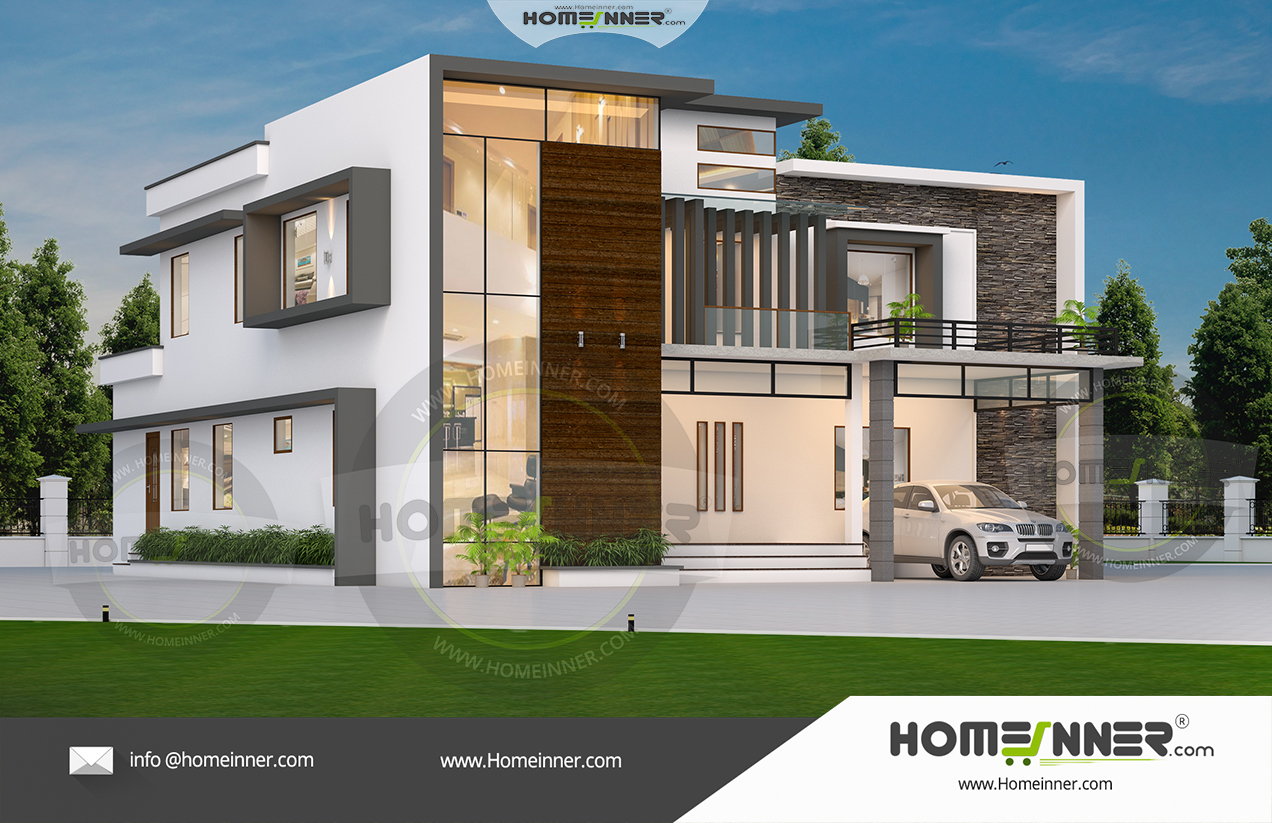 South Tripura 33 Lakh modern contemporary home plans