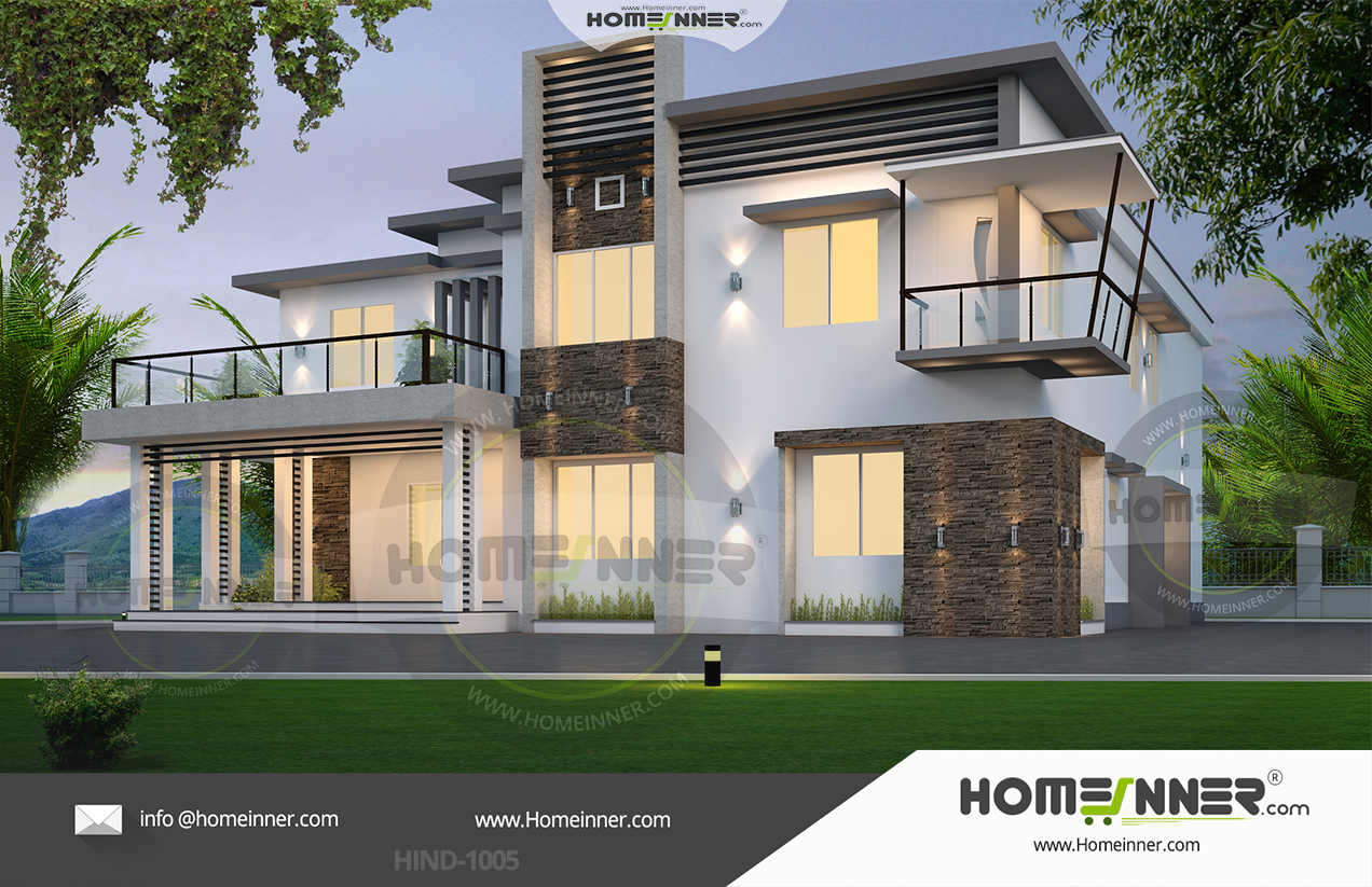 West Tripura 36 Lakh modern house plans and cost to build