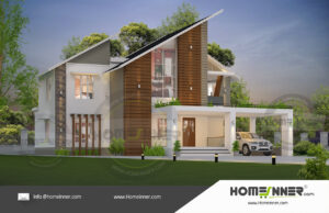 Mahe 33 Lakh modern residential architecture floor plans
