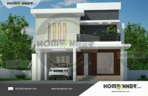 HIND 39025 Architectural house plan villa floor plan package