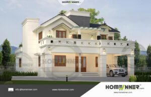HIND-39959 House plan 3D Elevations